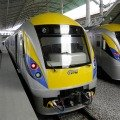 ETS Train at Ipoh Station