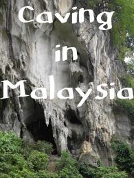 Caving in Malaysia
