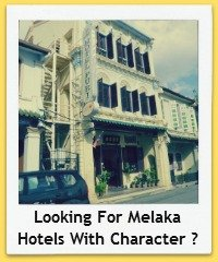 See my suggested Melaka Hotels