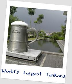 World's Largest Tankard -Royal Selangor