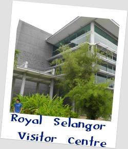 Exterior of Royal Selangor Visitor Centre