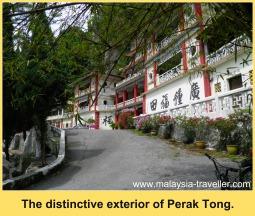 The Exterior of Perak Tong Cave Temple, Ipoh, Malaysia