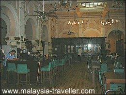 Interior of the Heritage Station Hotel (now closed)