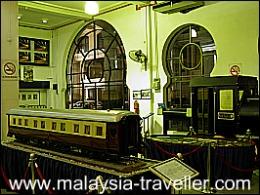 KTM Mini Museum at Old KL Railway Station