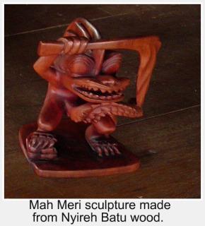 Mah Meri Wooden Carving, Carey Island