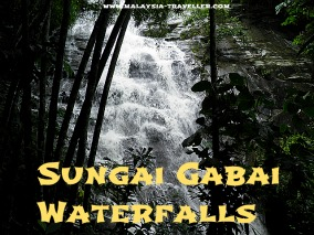 Sungai Gabai Waterfall