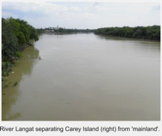 Langat River, Carey Island