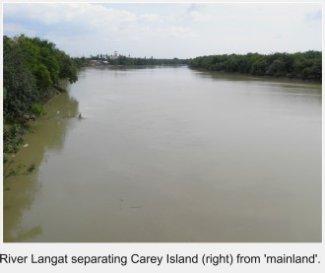 Langat River, Carey Island