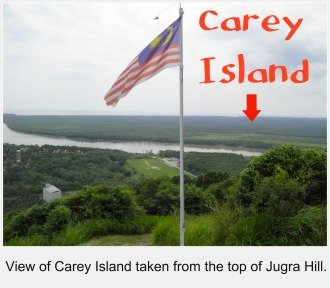 View of Carey Island
