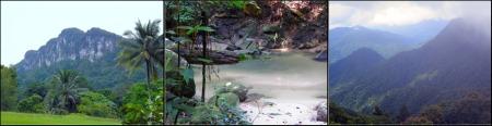 Gunung Brinchang, Gunung Angsi, Klang Gates Quartz Ridge
