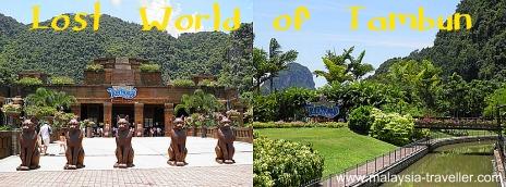 Entrance to Lost World of Tambun, Ipoh