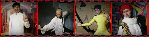 Asian icons at Red Carpet Wax Museum @ i-City