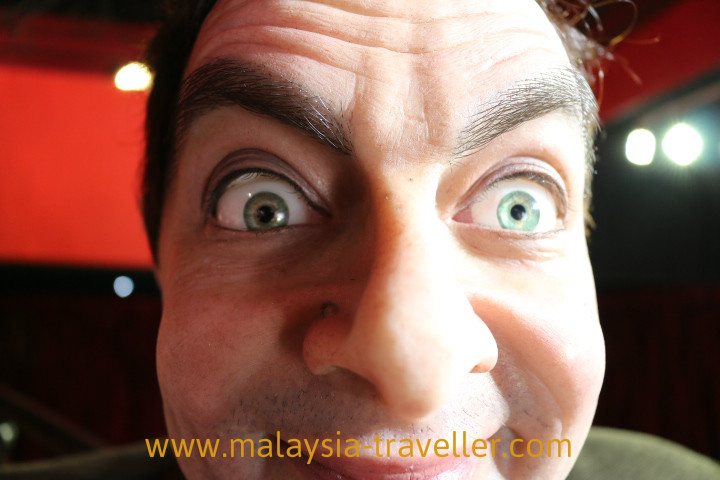 Mr.Bean in wax at Red Carpet