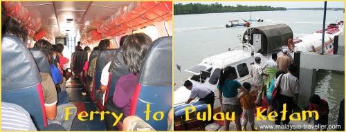Ferry To Pulau Ketam (Crab Island)