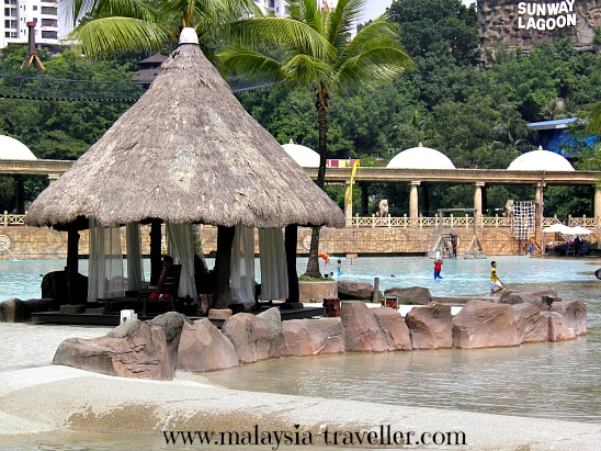 Gazebo at Surf Beach, Sunway Lagoon