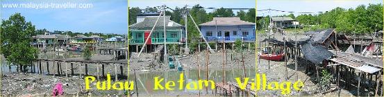 Stilt Houses on Pulau Ketam (Crab Island)