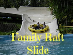 Family Raft Slide at A'Famosa Water Park