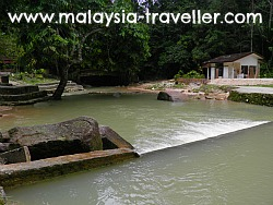Shallow Pools at Ampang Forest Reserve