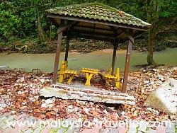 Flood Damage at Ampang Forest Reserve