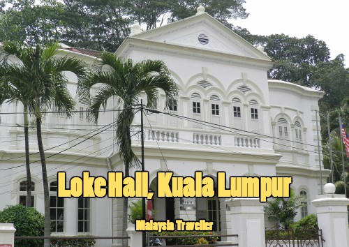 Loke Hall is the headquarters of the Malaysian Institute of Architects (PAM).