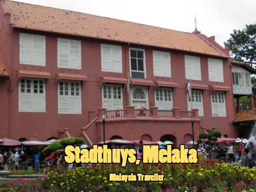 Dutch era Stadthuys building in Malacca