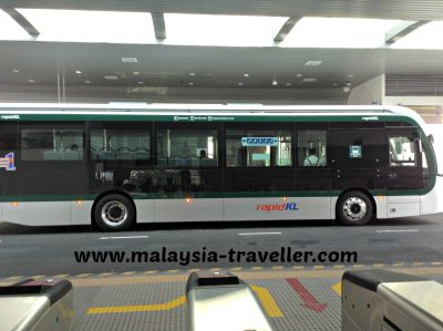 A bus on the BRT Sunway Line