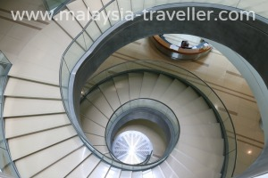 Nautilus Staircase at Bank Negara Museum