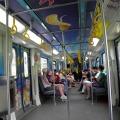 KTM Komuter train to Batu Caves