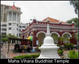 Maha Vihara Buddhist Temple, Brickfields