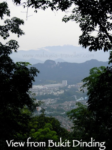 View from Bukit Dinding