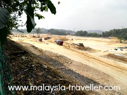 Development project nextdoor to Bukit Jalil Park
