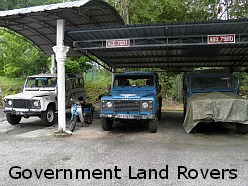 Bukit Larut Hill Resort Land Rovers