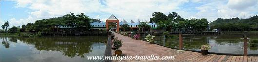 Panorama of Bukit Merah Laketown Resort