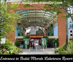 Entrance to Bukit Merah Laketown Resort