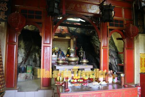 Main Altar at Centipede Temple