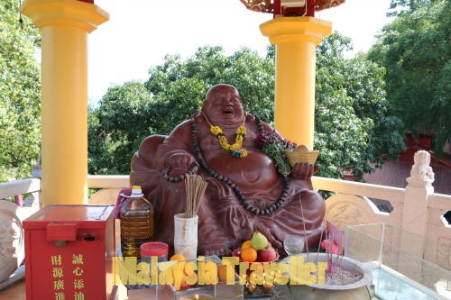 Laughing Buddha statue at Then Sze Temple