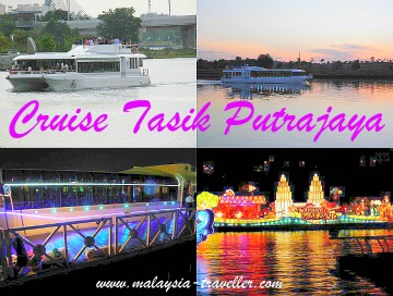 Cruise Tasik Putrajaya sightseeing cruise