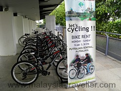 Bike Rental at Putrajaya Sentral