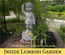 Lumbini Garden at FGS Dong Zen Temple