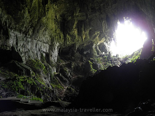 Interior of Fairy Cave, Sarawak