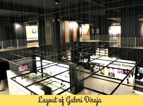 Exhibition hall at Galeri Diraja Tuanku Jaafar