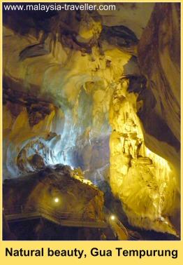 Golden Flowstone Cavern, Gua Tempurung