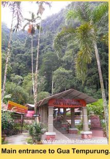 Entrance to Gua Tempurung