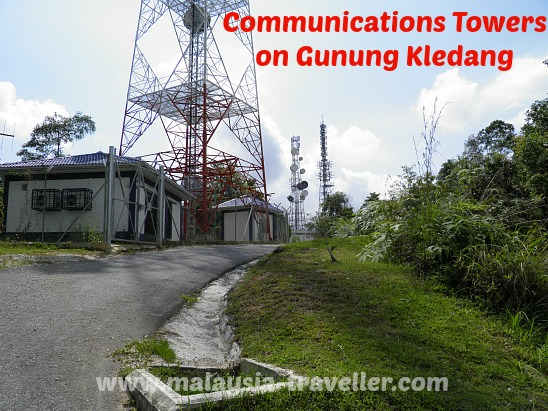 Communications Towers on Gunung Kledang