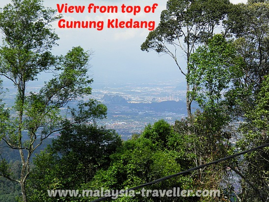 View from top of Gunung Kledang