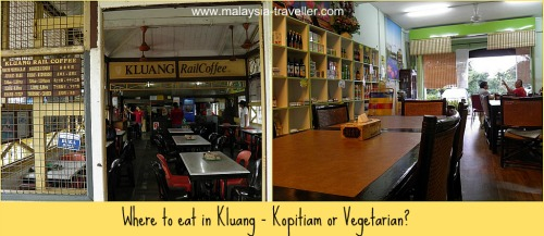 Places to eat at Kluang, near Gunung Lambak