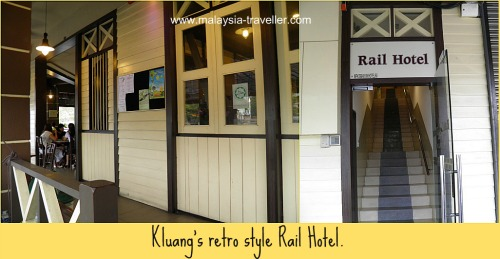 Accommodation at Kluang, near Gunung Lambak