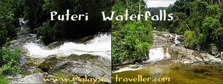 Puteri Waterfalls, Gunung Ledang National Park