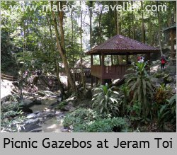 Picnic Shelters at Jeram Toi