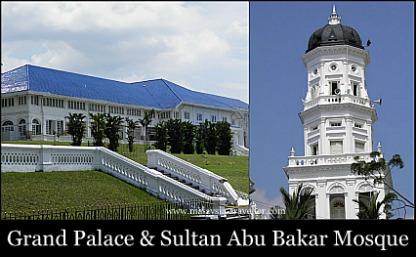 Grand Palace & Sultan Abu Bakar Mosque, Johor Bahru